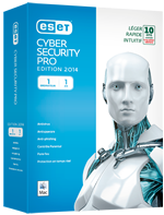 Eset Cyber Security Pro, Antivirus Eset, Antivirus pour Mac, Antivirus pour Windows