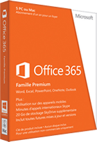 Microsoft Office 365 Home Premium 5-PC/MAC 1 year